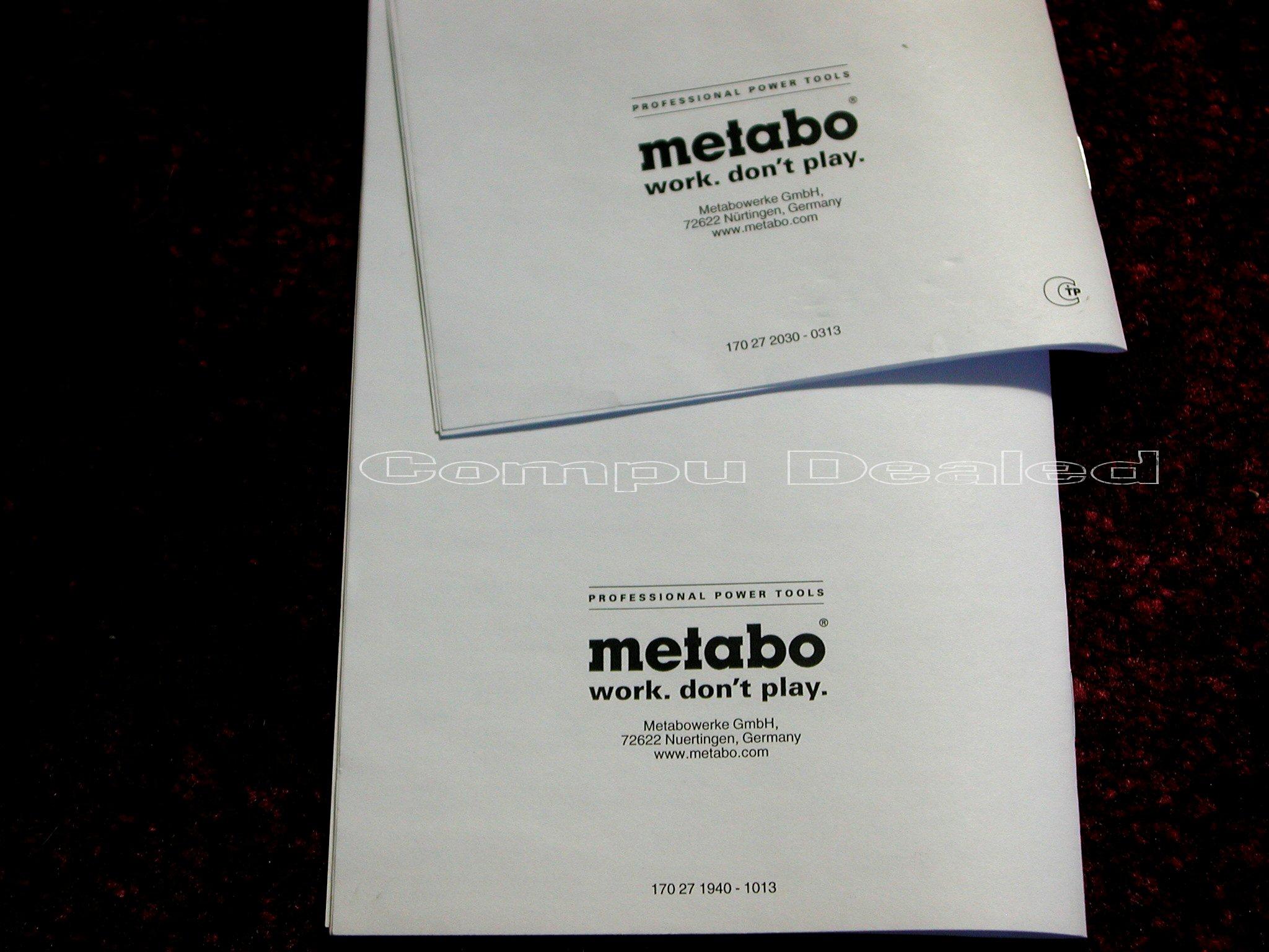Handleiding Metabo SB 18 LTX-3 BL Q I (68 pagina's)